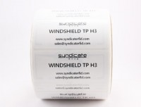 Syndicate Windshield Tags Tamperproof
